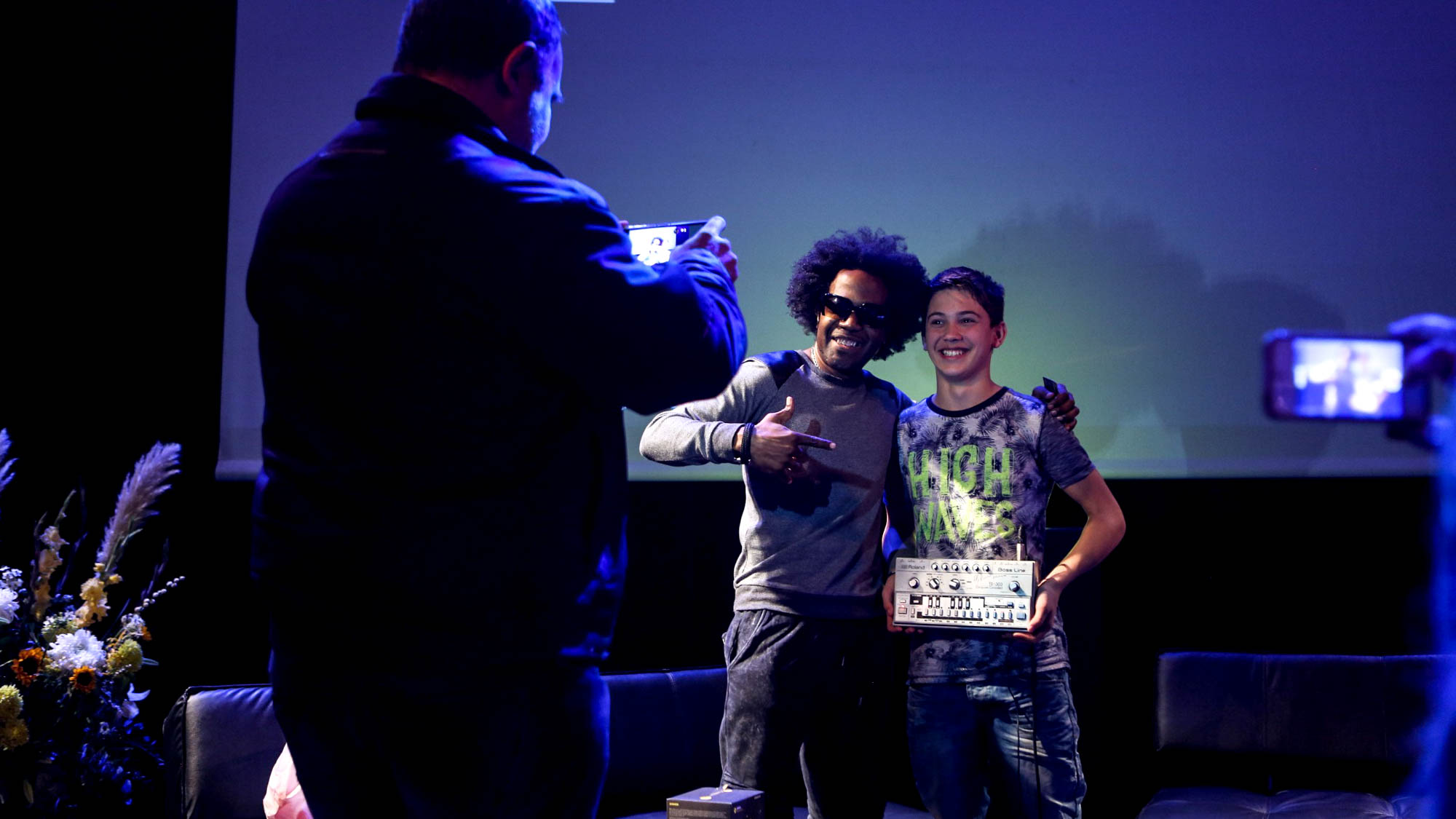 DJ Pierre and his 303