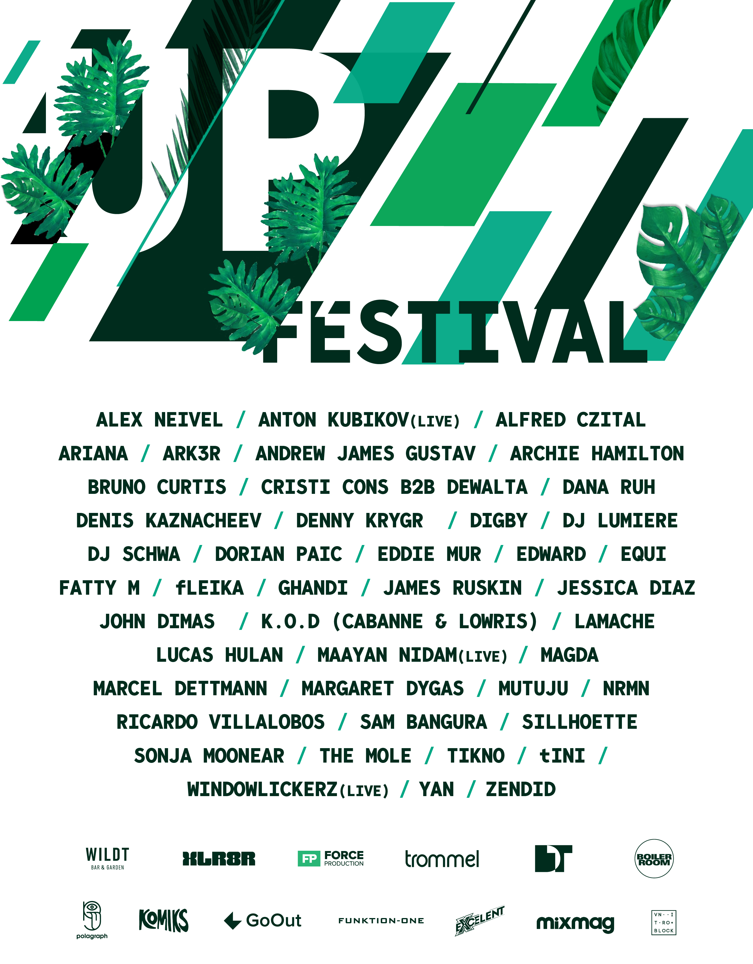 UP Festival lineup