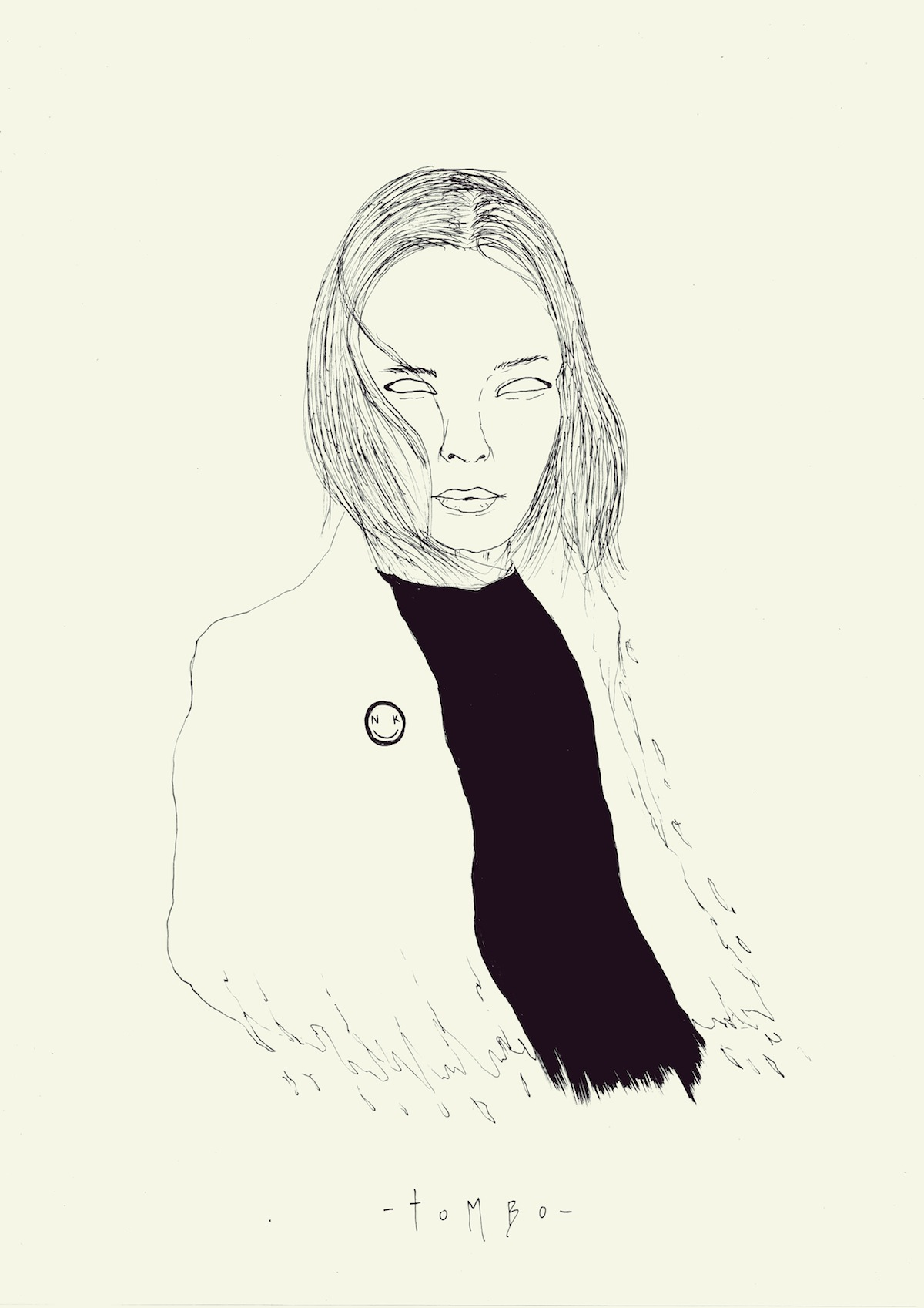 Tombo's Nina Kraviz drawing.