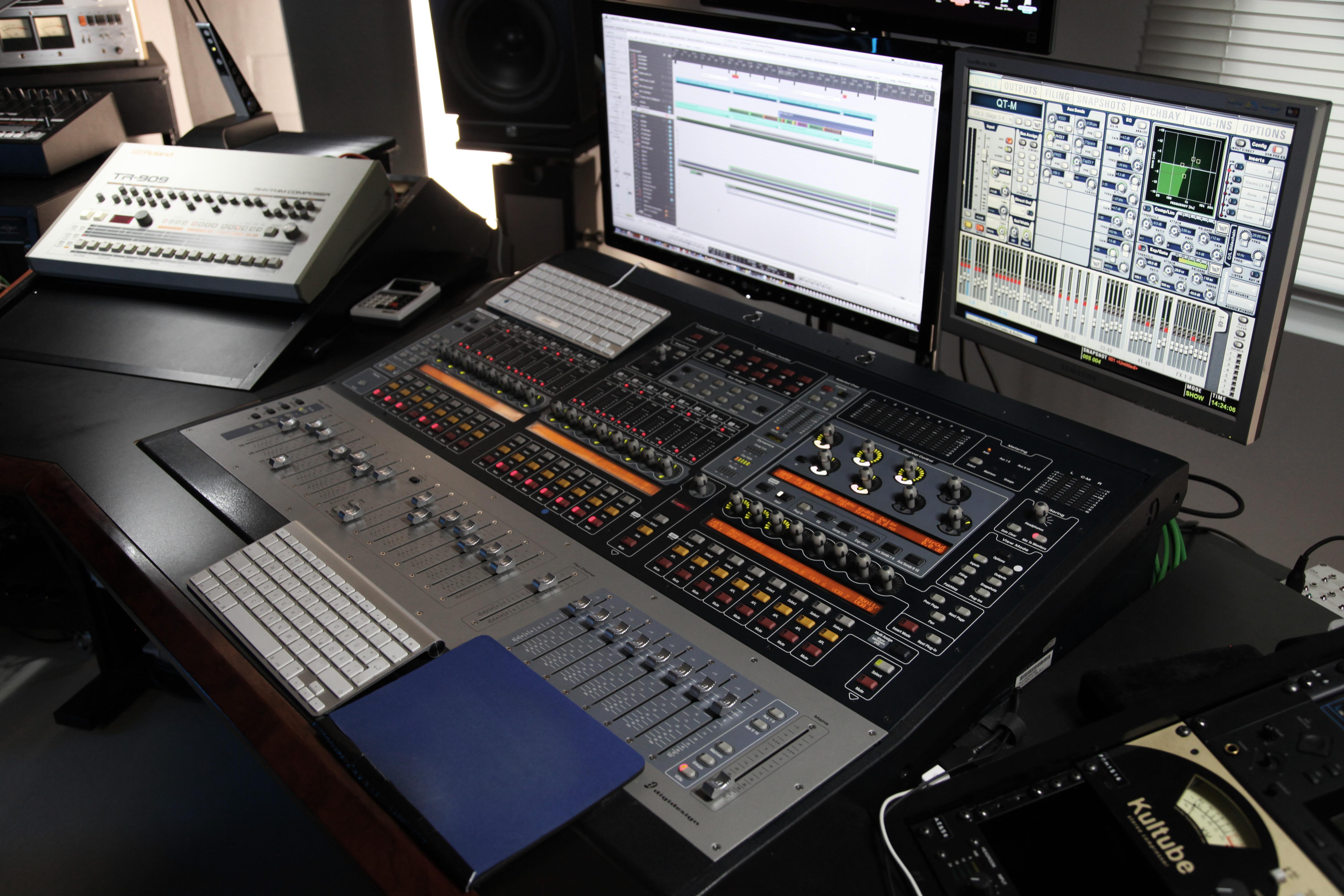 Avid Sc48 Mixing Desk