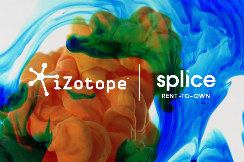 Splice and iZotope Offer Rent-to-Own Plugins