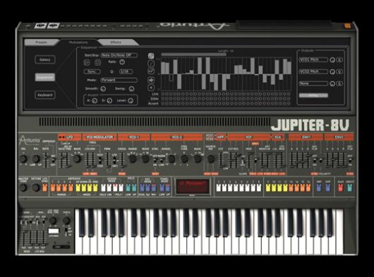 Arturia Jupiter-8 V2 Software Synth