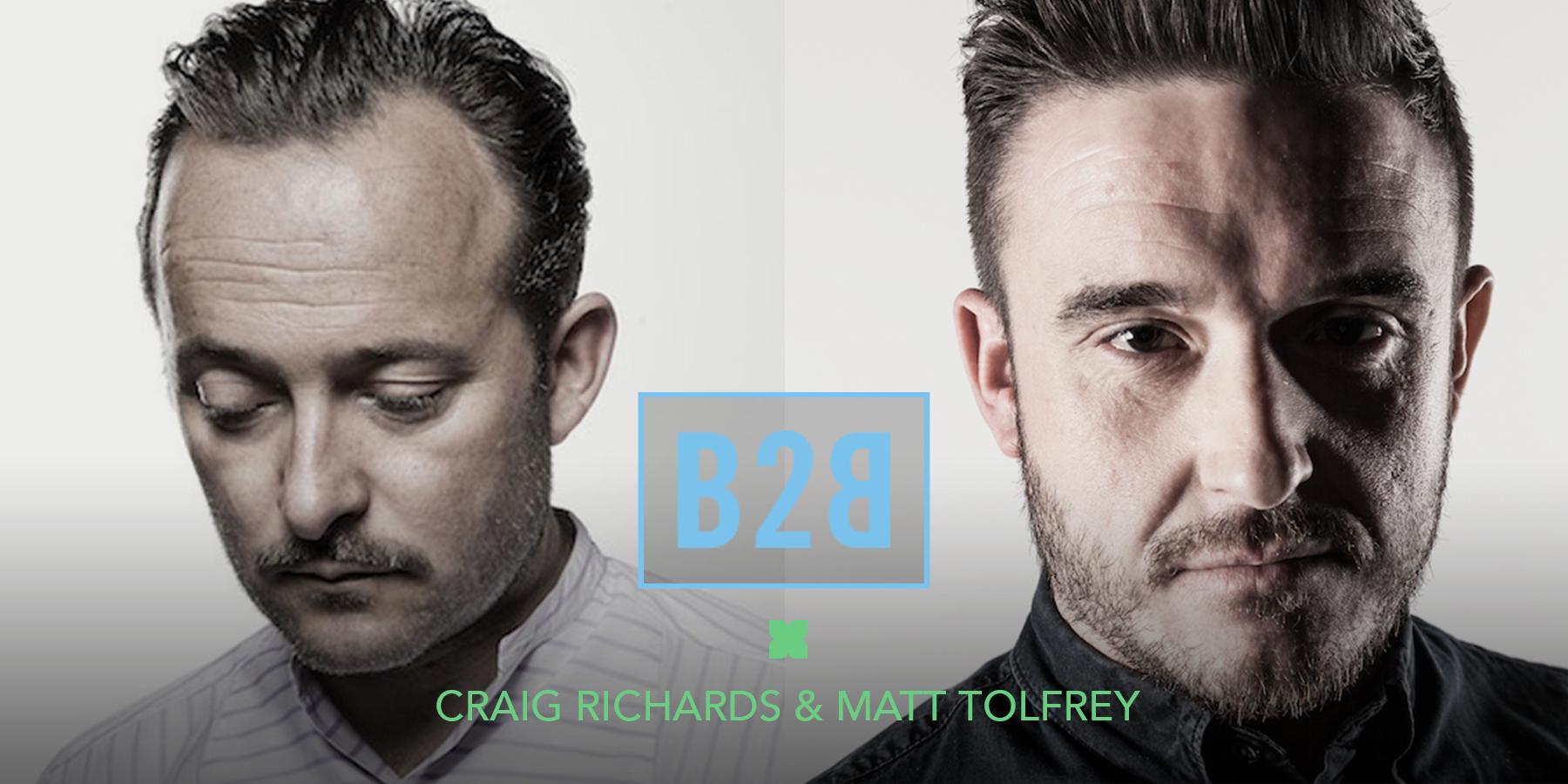 Craig Richards and Matt Tolfrey