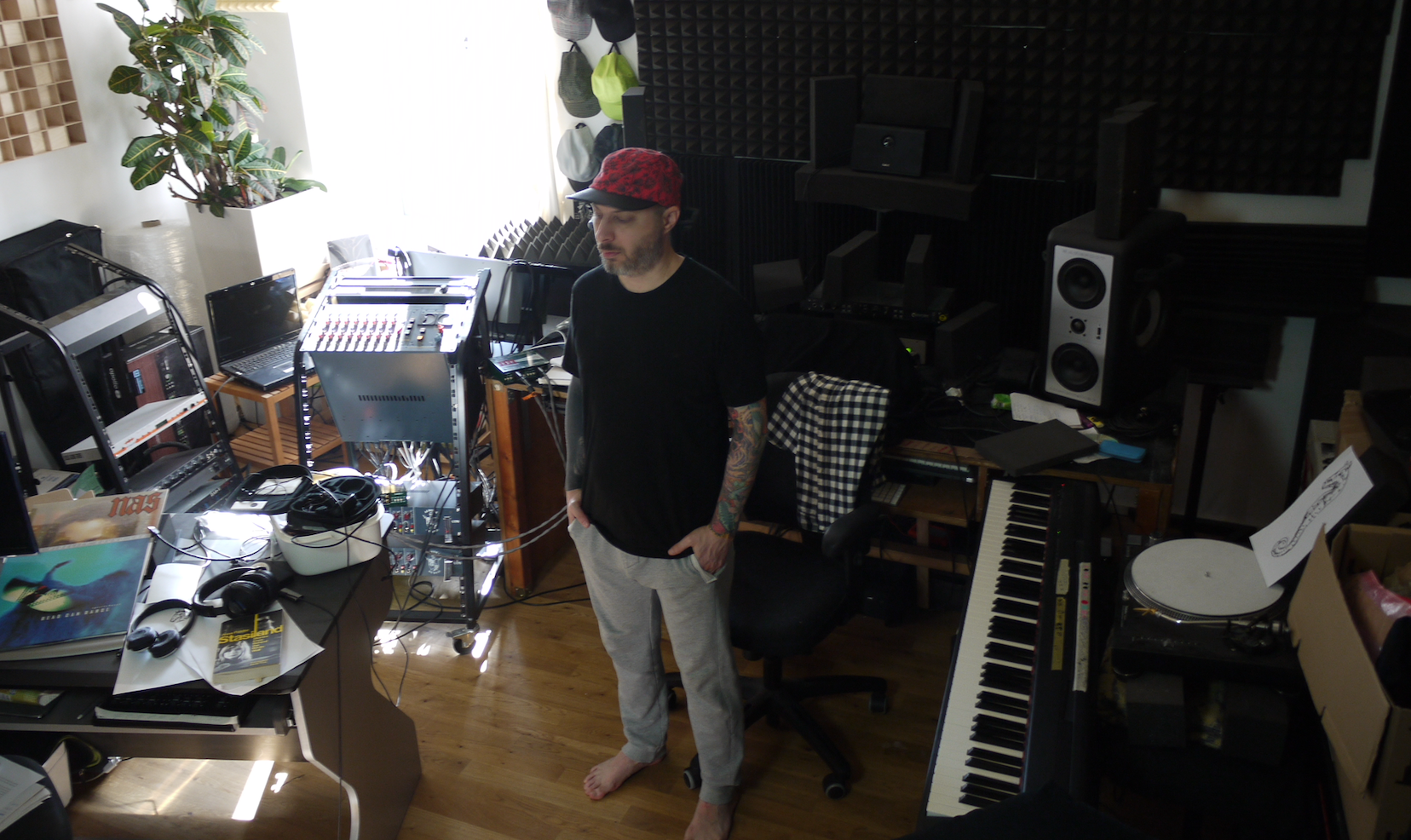 In the Studio: Levon Vincent