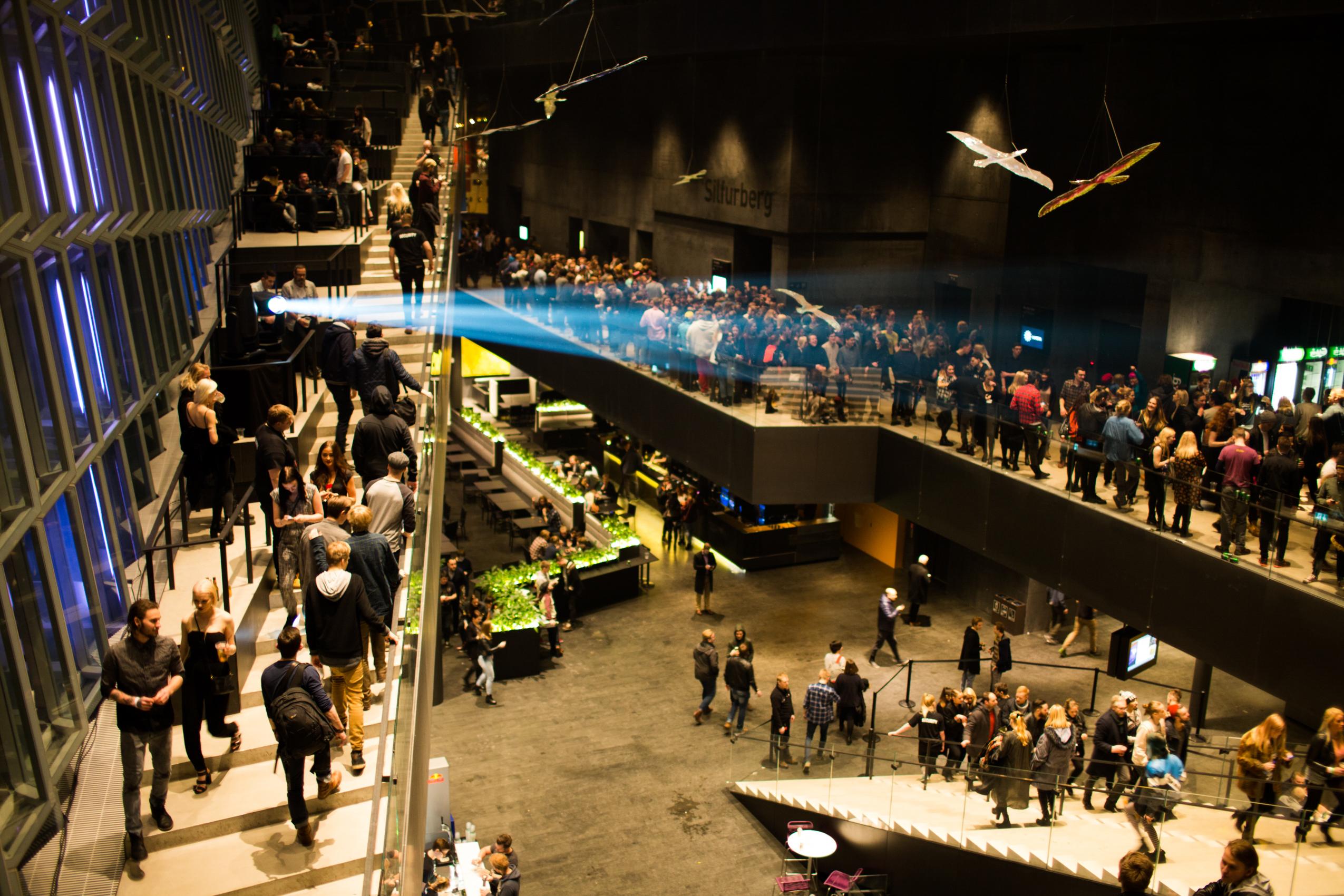 Inside the Harpa Concert Hall (Photo: Advanced Music)