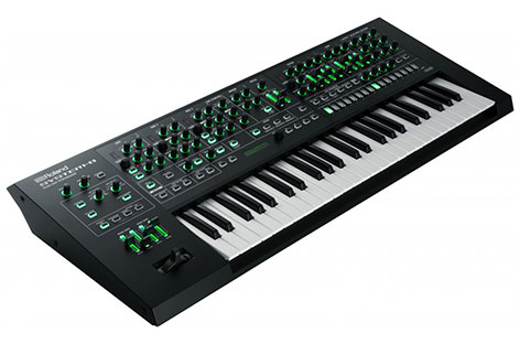 Roland Announces New Synth, Turntable, and DJ Mixer