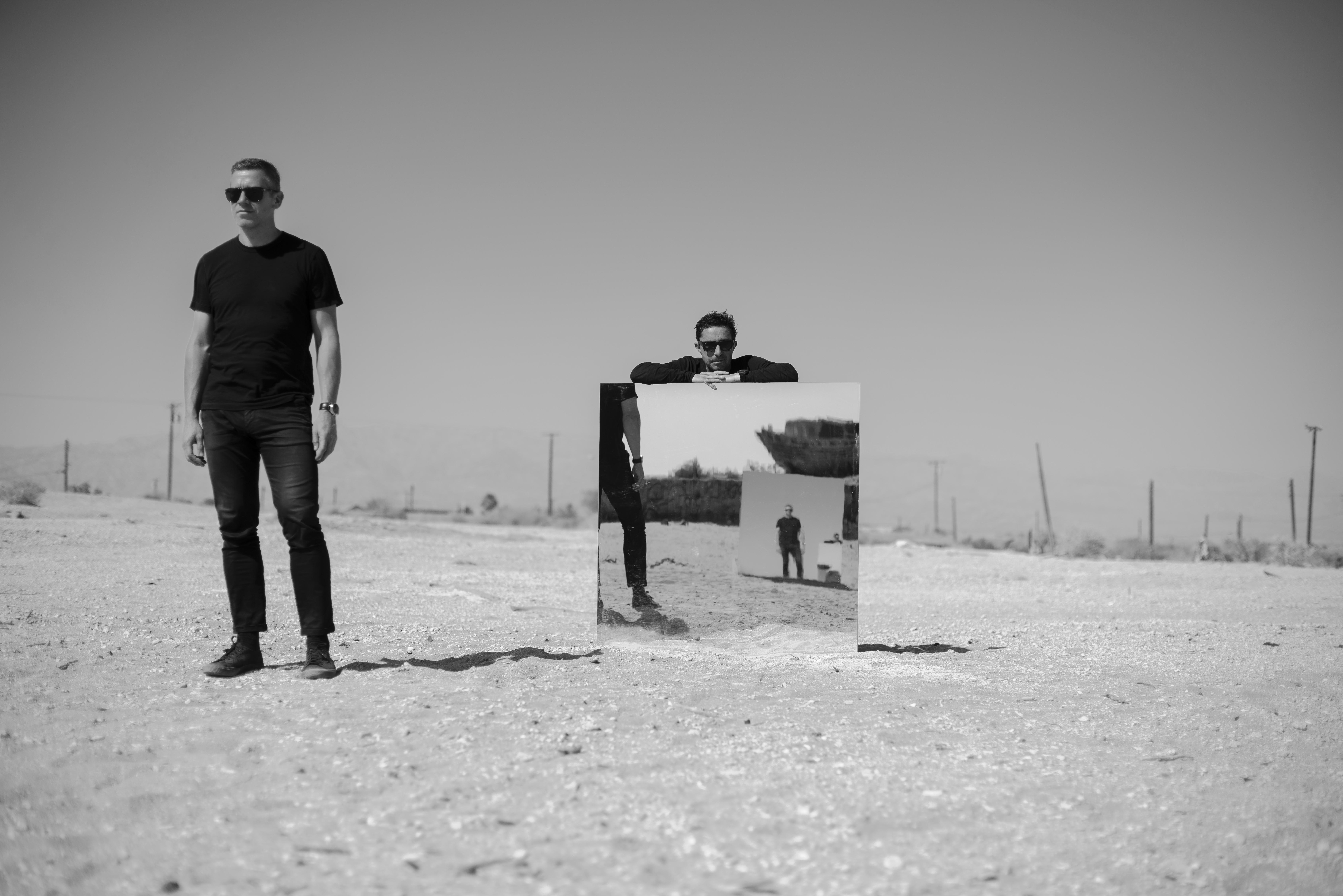 Jason Swinscoe, front left; Dominic Smith, back right. / Photo: B+