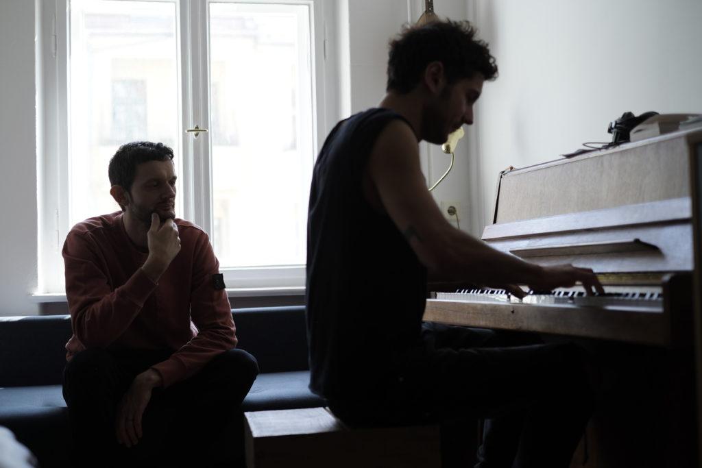 In the Studio: Apparat